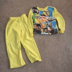 Other - Boys size 6/7 minion pajamas